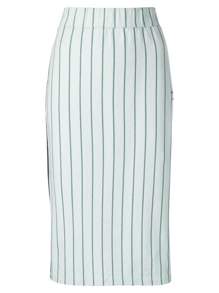 Adidas striped midi skirt - Green