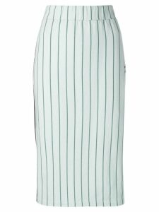 Adidas striped midi skirt - Green