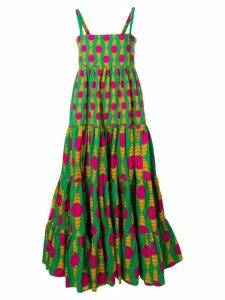 La Doublej Bouncy maxi dress - Green