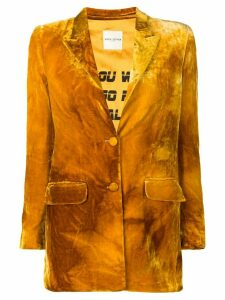 Each X Other velvet blazer - Orange