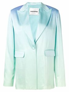 Each X Other rainbow oversized blazer - Blue