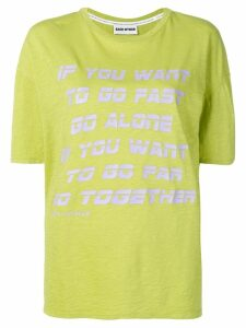 Each X Other Go Together print T-shirt - Green