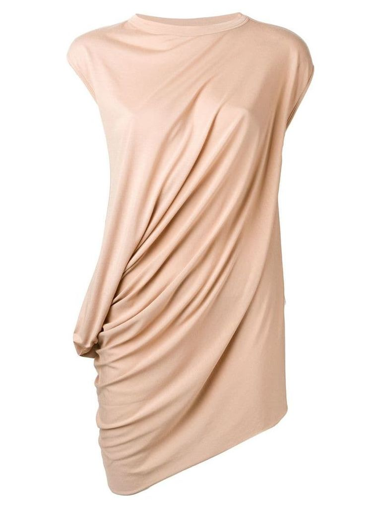 Rick Owens Lilies ruched side top - Pink