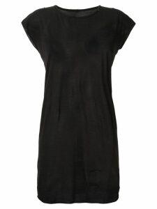 Rick Owens DRKSHDW long T-shirt - Black