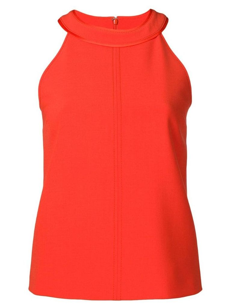 Victoria Victoria Beckham sleeveless fitted top - Red