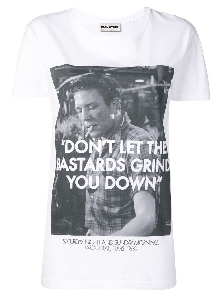 Each X Other Woodfall films x Robert Montgomery Bastards T-shirt -