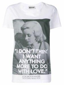 Each X Other Woodfall films x Robert Montgomery Love T-shirt - White