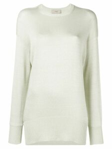 Maison Flaneur straight-fit jumper - Green