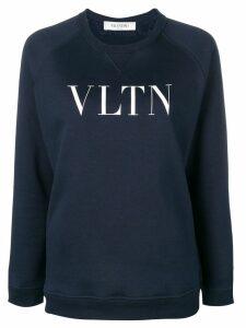 Valentino VLTN print sweatshirt - Blue