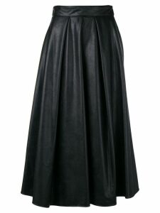 MSGM pleated midi skirt - Black