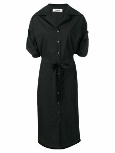 Chalayan poplin shirt dress - Black