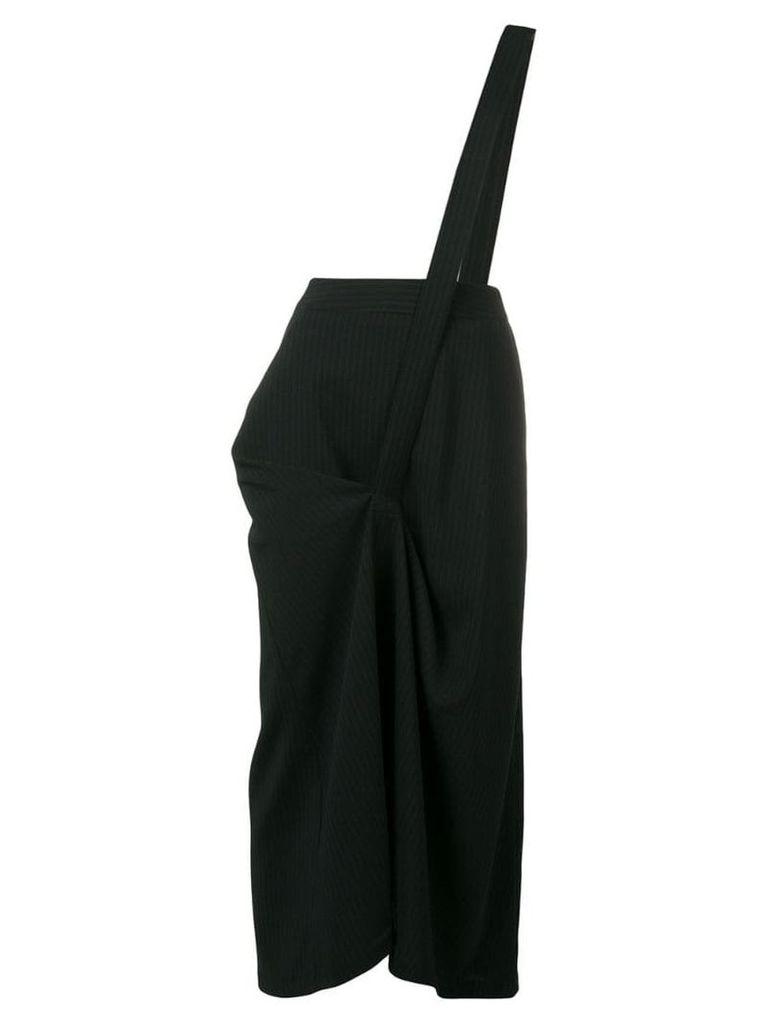 Chalayan asymmetric front skirt - Black