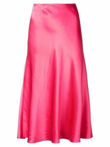 Cinq A Sept Marta sheen mid skirt - Pink