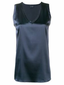 Brunello Cucinelli basic tank top - Blue