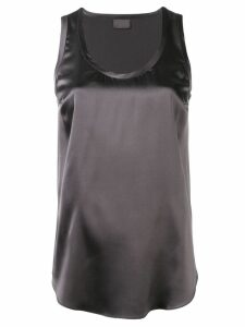 Brunello Cucinelli basic tank top - Grey