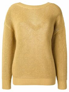 Nina Ricci drop shoulder sweater - Neutrals