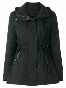 Moncler hooded coat - Black
