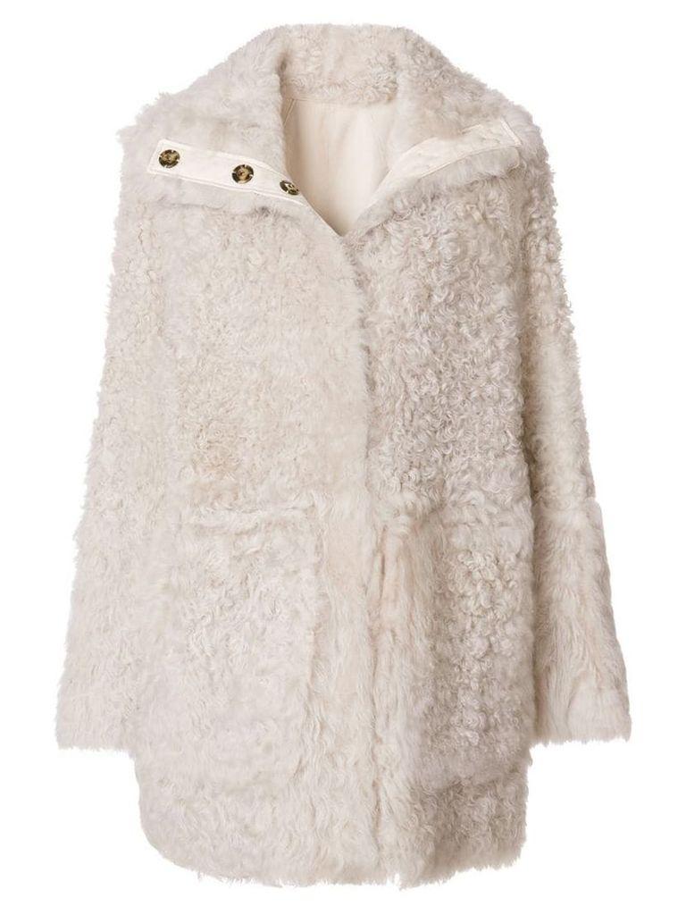Yves Salomon reversible coat - Neutrals