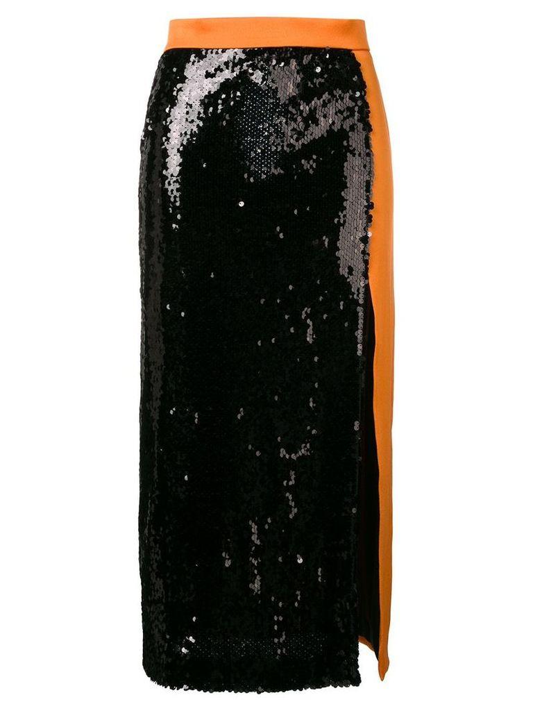 Brognano sequin embellished skirt - Black