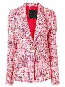 Philipp Plein tweed jacket - Red