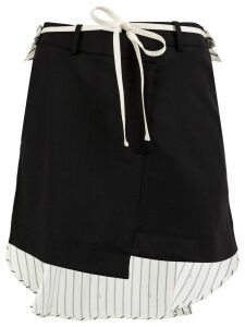 Monse asymmetric hem skirt - Black