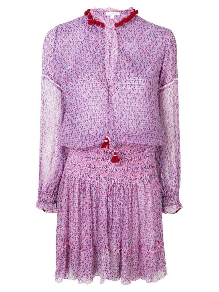 Poupette St Barth floral print dress - Purple