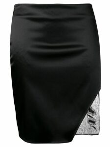 1017 ALYX 9SM fitted lace detailed skirt - Black