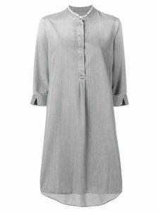 Fabiana Filippi 3/4 sleeve dress - Grey