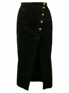 Alexa Chung corduroy pencil skirt - Black