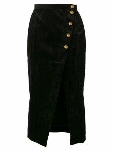 Alexa Chung corduroy pencil skirt - Black