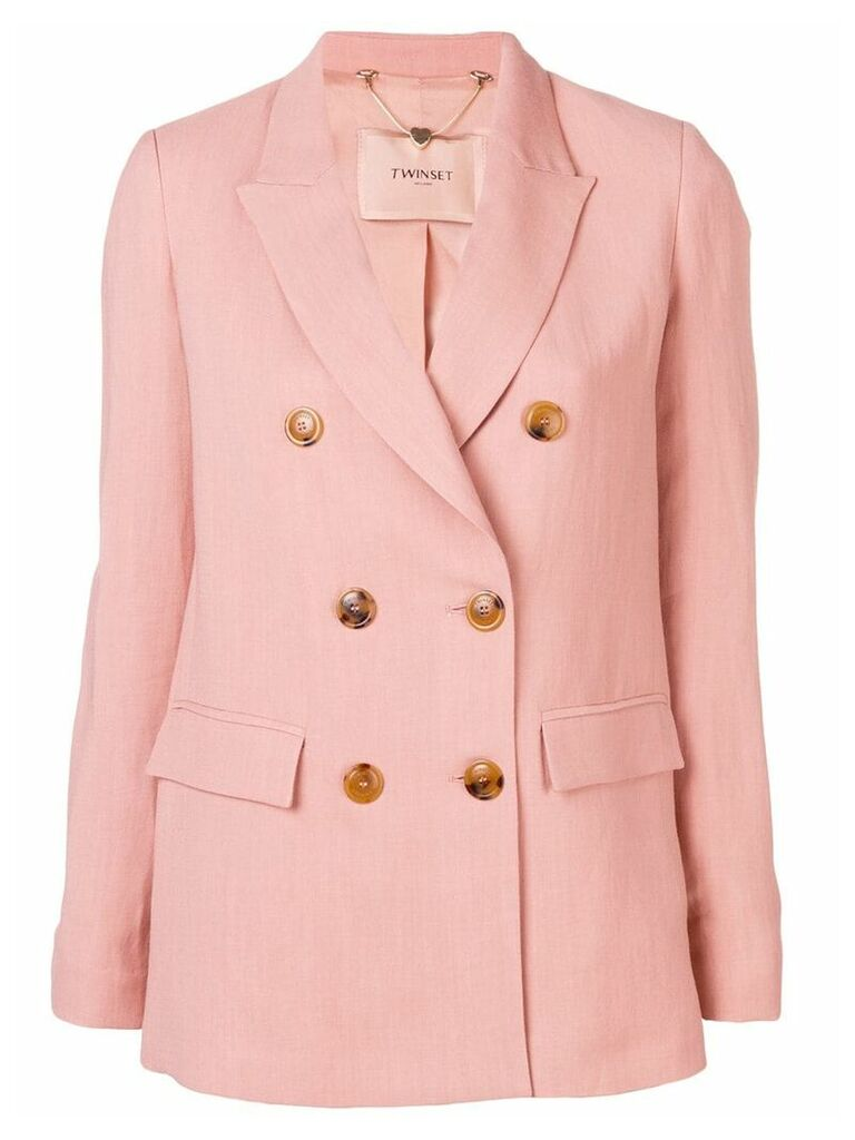 Twin-Set double breasted blazer - Pink