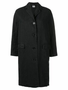 Aspesi single-breasted coat - Black