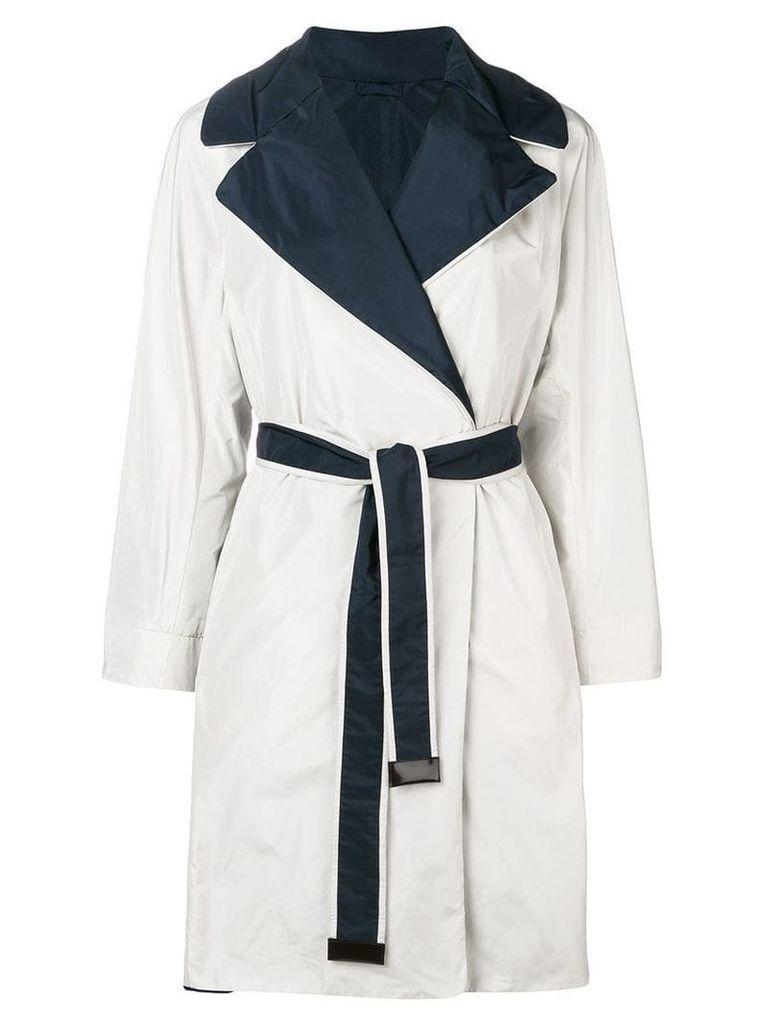 'S Max Mara reversible trench coat - White