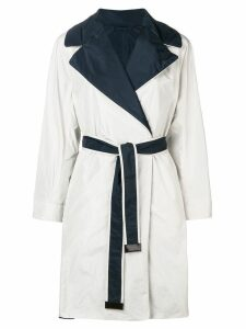 'S Max Mara reversible trench coat - White