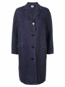 Aspesi single-breasted coat - Blue