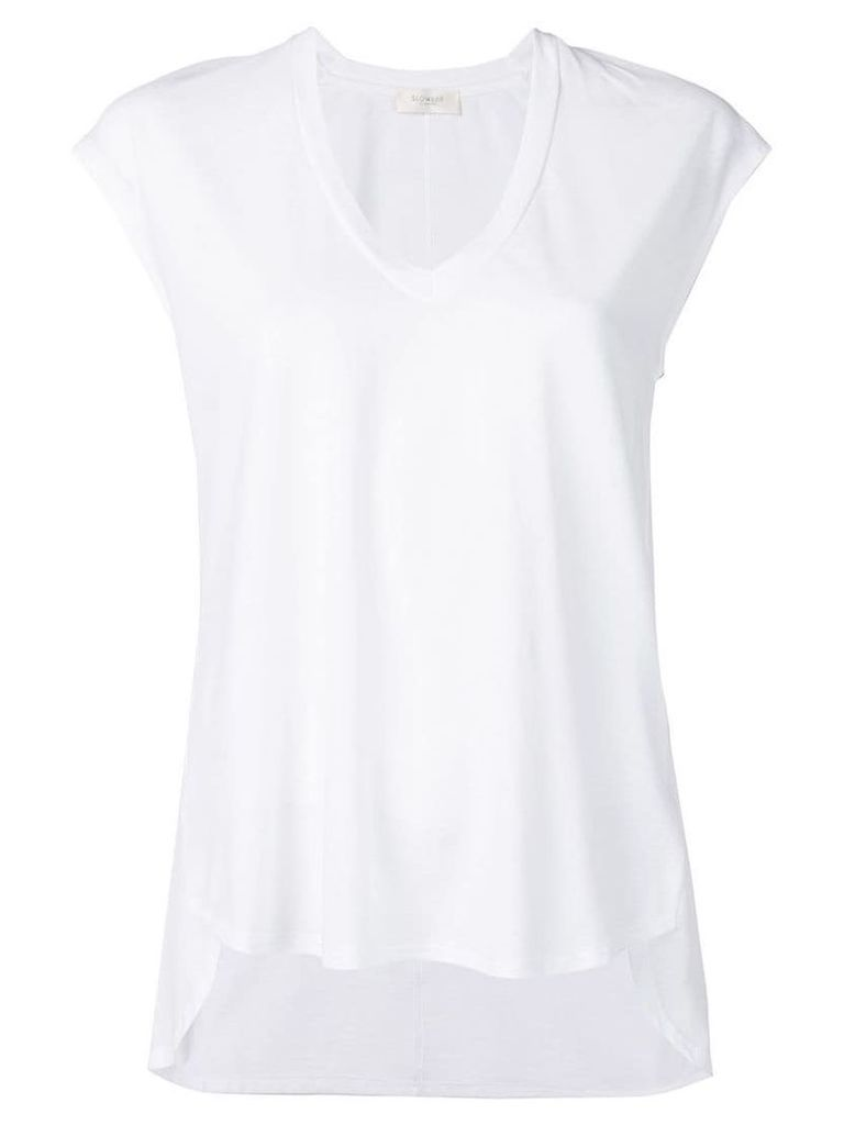Zanone scoop neck T-shirt - White