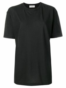 Zanone crew neck T-shirt - Black