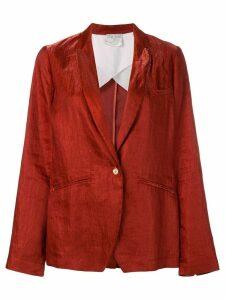 Forte Forte single-breasted blazer - Red