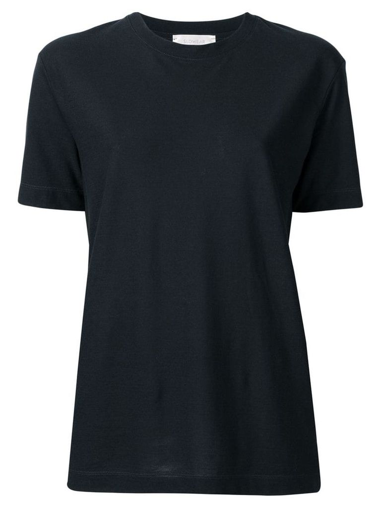 Zanone crew neck T-shirt - Blue