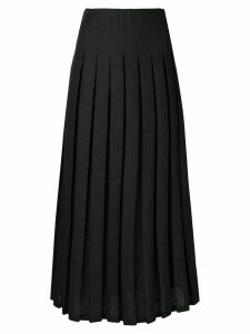 Mara Hoffman Cordelia high-pleated skirt - Black