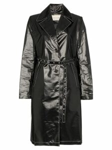 1017 ALYX 9SM Williams belted vinyl trench coat - Black