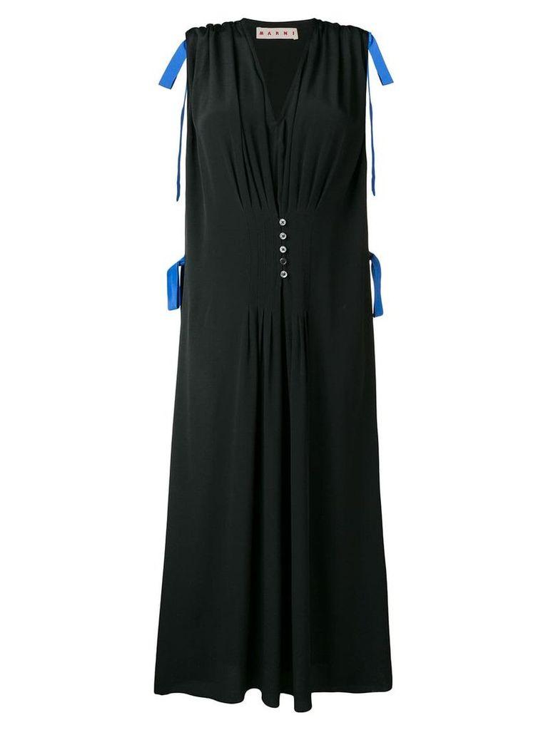 Marni midi pleated skirt - Black