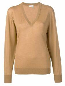 Chloé V-neck jumper - Brown