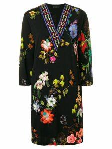 Etro floral shift dress - Black