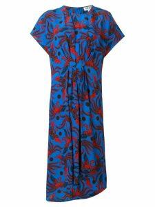 Kenzo phoenix print dress - Blue