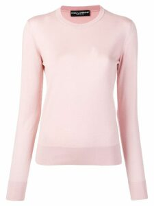 Dolce & Gabbana crew neck jumper - Pink