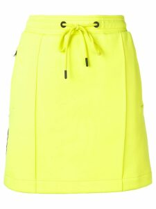 Kenzo logo trim skirt - Yellow