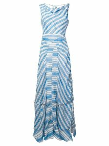 Altuzarra Gaeta striped dress - Blue