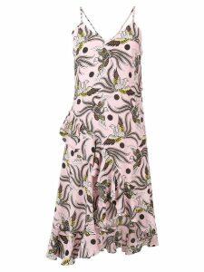 Kenzo phoenix print dress - 33 Pastel Pink