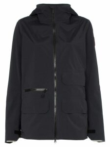 Canada Goose Pacifica zip-up raincoat - Black